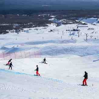 China National Snowboard Team supervised by China Water Sports Administration Center, prepare for next Olimpics Games, Beijing 2022, Villarrica-Pucon