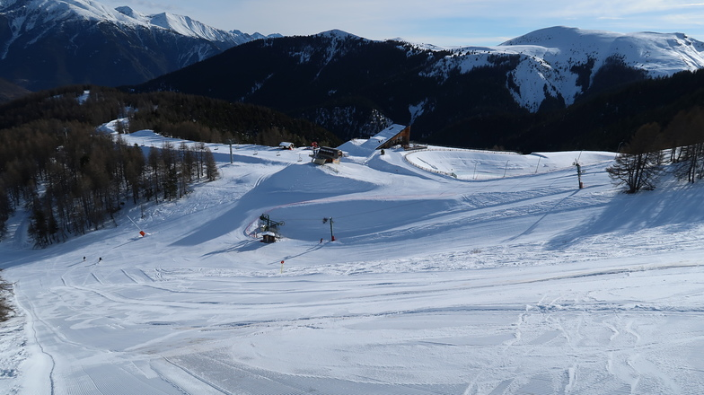 Roubion - Les Buisses snow