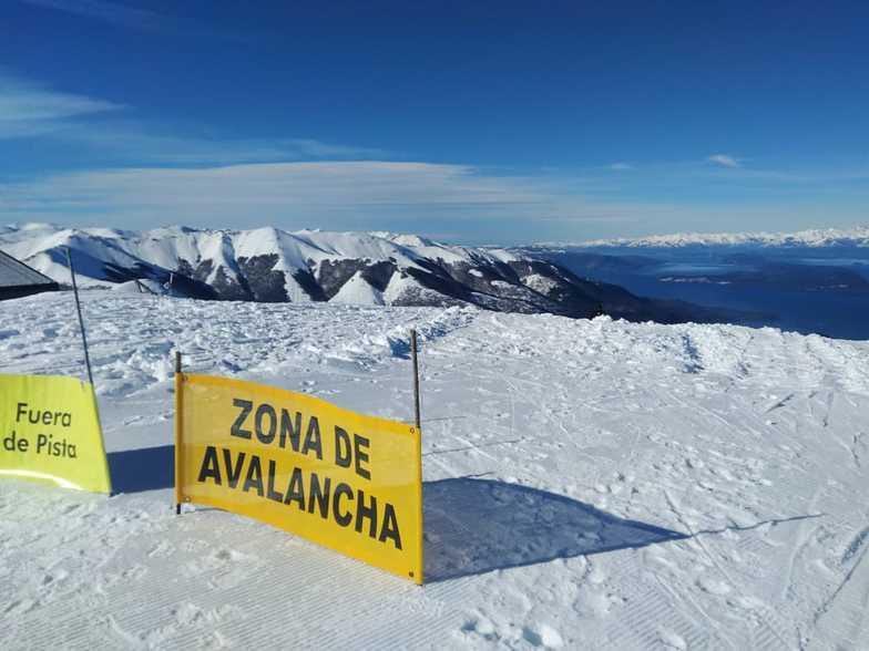 """Cerro Bayo, """"El Capricho"""" lookout."""