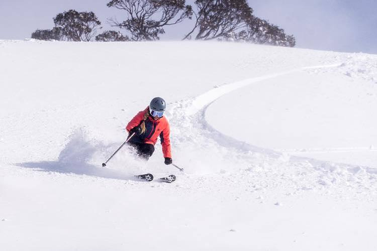 53cm since Monday with 10cm in the past 24hrs and still falling., Perisher