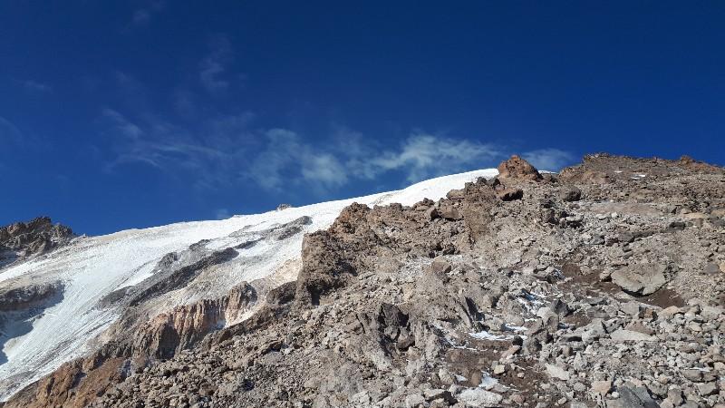 Peak Damavand from Jokhar, Mount Damavand