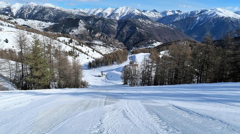 Roubion 1900m Great Ski, Roubion - Les Buisses