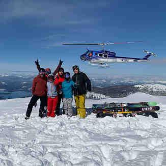 Heli Skiing, Selkirk Powder