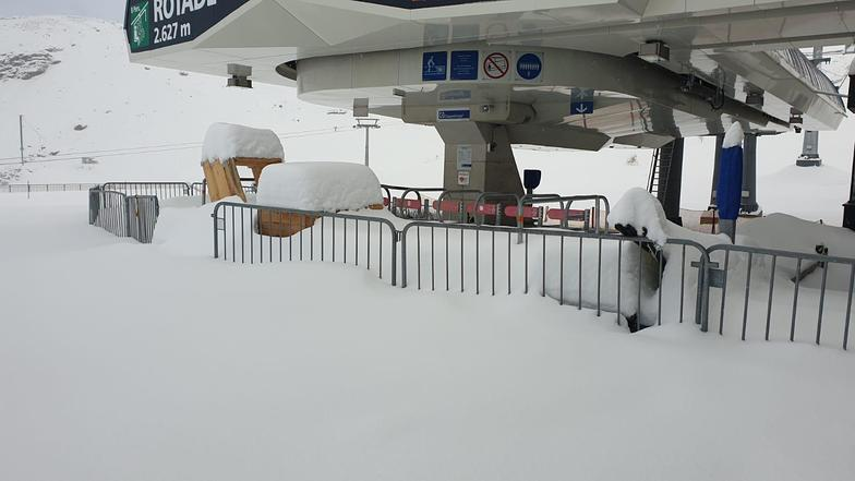 One of 3 glaciers opening this weekend, Stubai Glacier