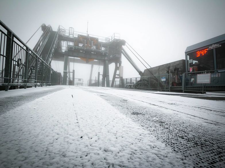 First snow, Jackson Hole