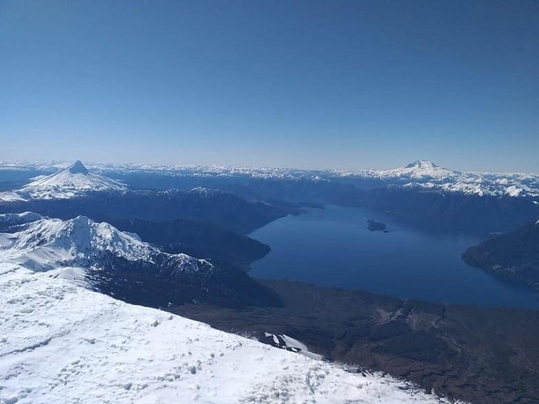 Cumbre volcan osorno, Volcán Osorno