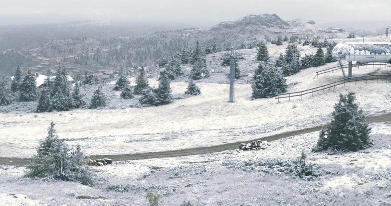 Winter is on its way, Kvitfjell Alpine Centre