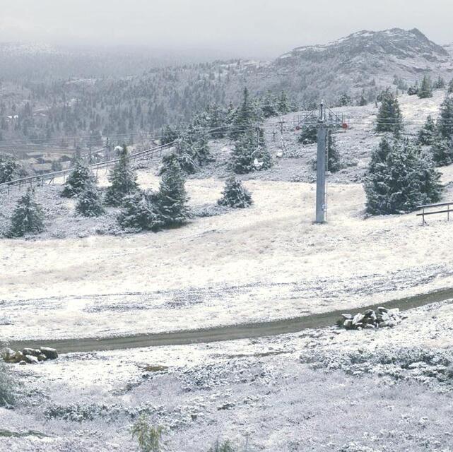 Winter is on its way, Kvitfjell Alpine Centre