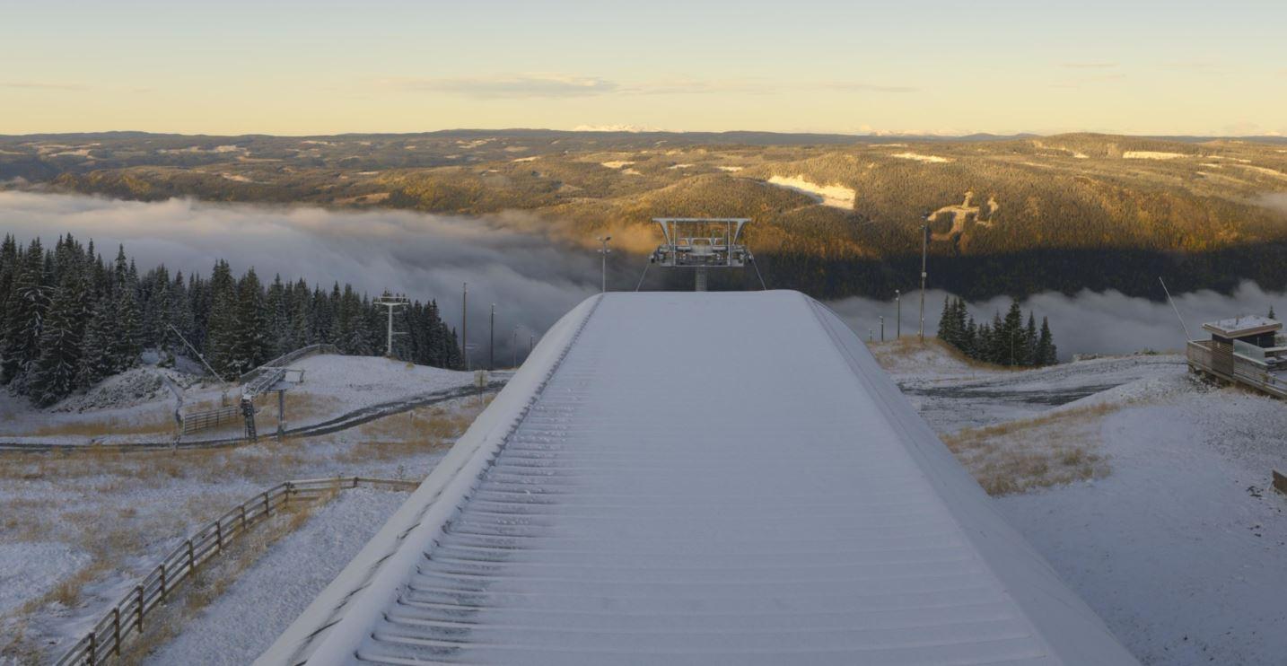 Winter isn't far away, Hafjell