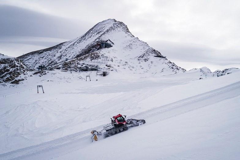 Opening this weekend, Stubai Glacier