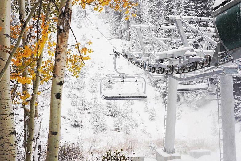 Heavy snow in Colorado, Keystone