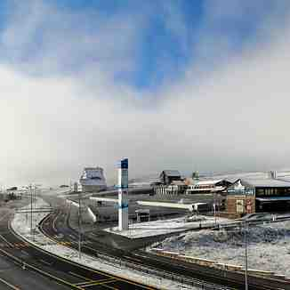 Snow arrives in Turkey, Erciyes Ski Resort