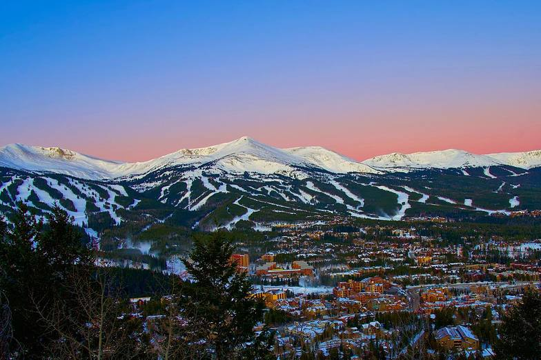 Looking good for opening day this weekend, Breckenridge
