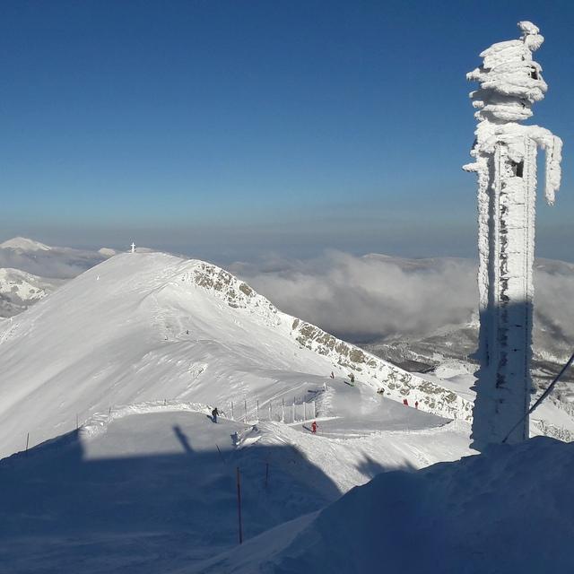 At the top of Apenine (Monte Gomito), Abetone