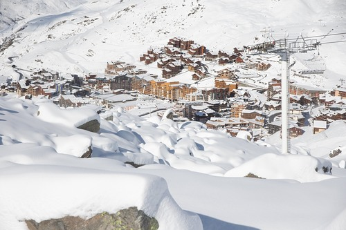 Val Thorens Ski Resort by: Snow Forecast Admin