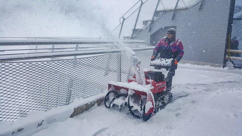 Zugspitze, snowing November 2019, Garmisch-Partenkirchen-Zugspitze