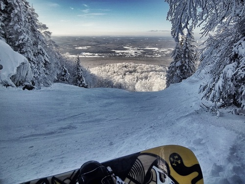 Mont Sutton Ski Resort by: Jean Gaudet