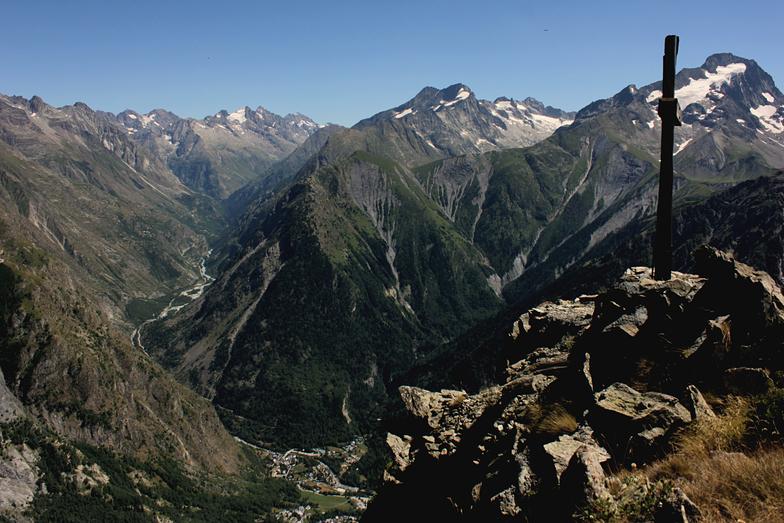 Depuis pied Moutet, Les Deux Alpes