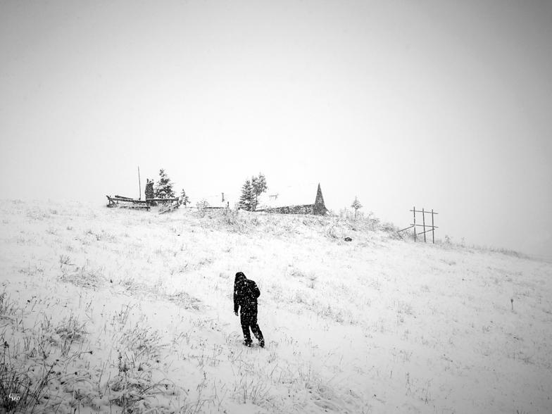 Jour de neige, Les Deux Alpes