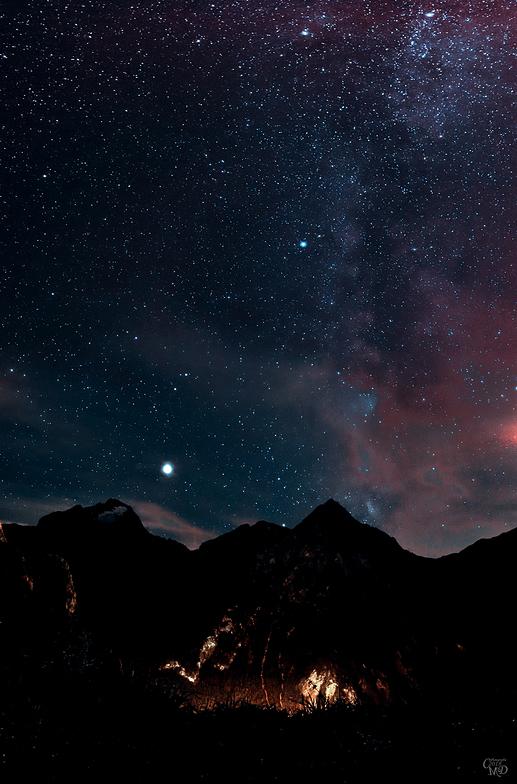 Nuit Lactée, Les Deux Alpes