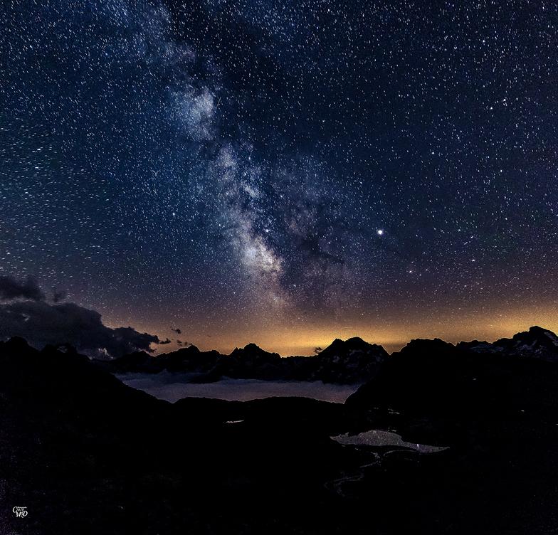 Nuit d'été en Oisans, Les Deux Alpes