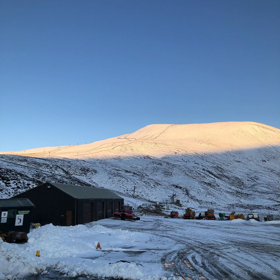 Looking great for the upcoming season, Glenshee
