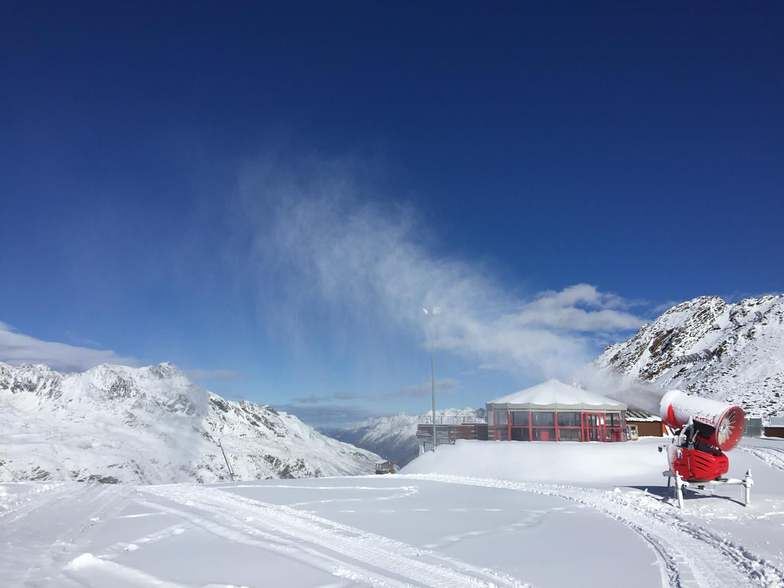 Opening day..., Obergurgl