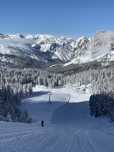 Cortina Ski Resort by: Snow Forecast Admin