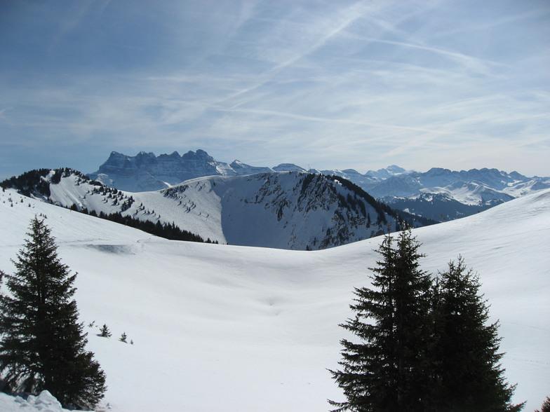 Dents du Midi -  Mont Blanc, Torgon-Les Portes du Soleil