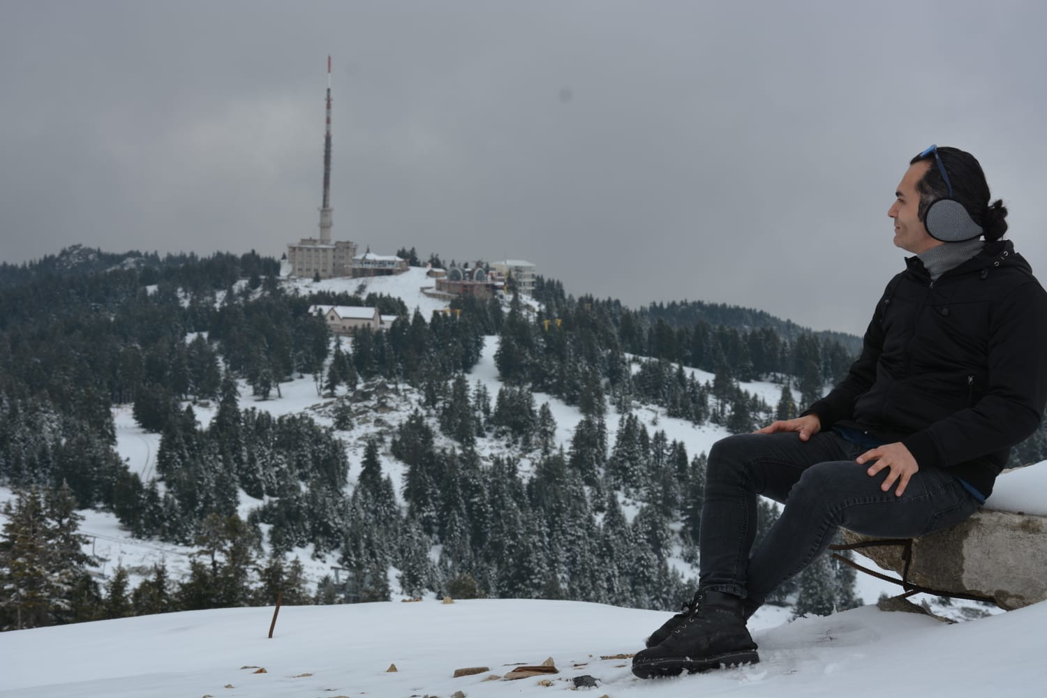 Late winter on May, at Mt. Uludağ