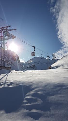 Saas Fee Ski Resort by: Stefano Maida