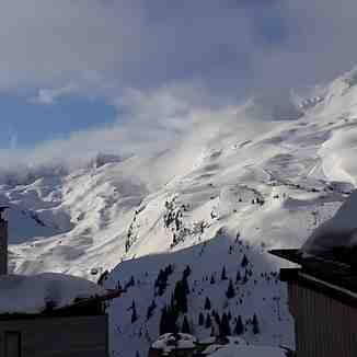 View from balcony, Avoriaz