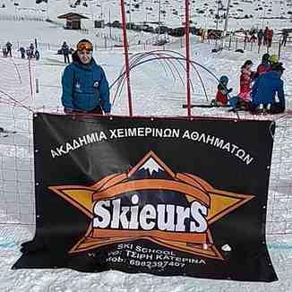 skieurs, Seli