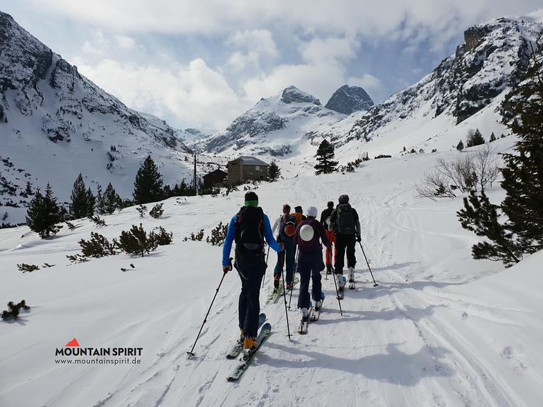 Ski touring in Rila mountain, Malyovitsa