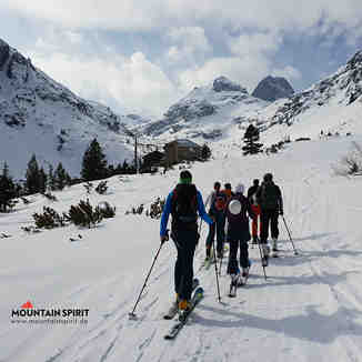 Ski touring in Rila mountain, Malyovitsa