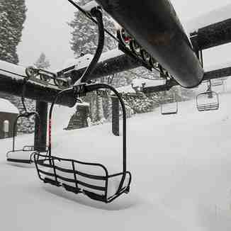 winter has begun, Homewood Mountain Resort
