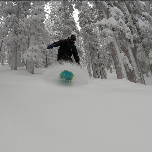 Flag Pow, Arizona Snowbowl