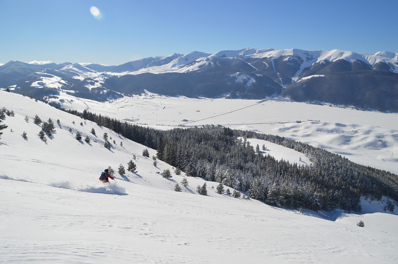 Pescocostanzo snow