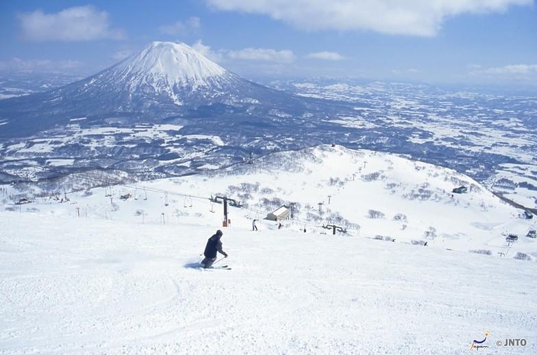 opened for the season today, Niseko Grand Hirafu