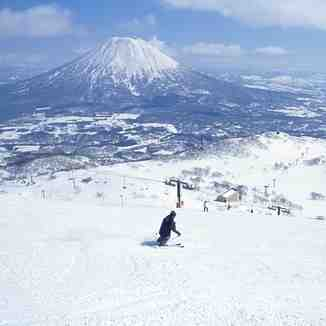 opened for the season today, Niseko Grand Hirafu