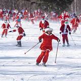 annual Santa Sunday, USA - Maine