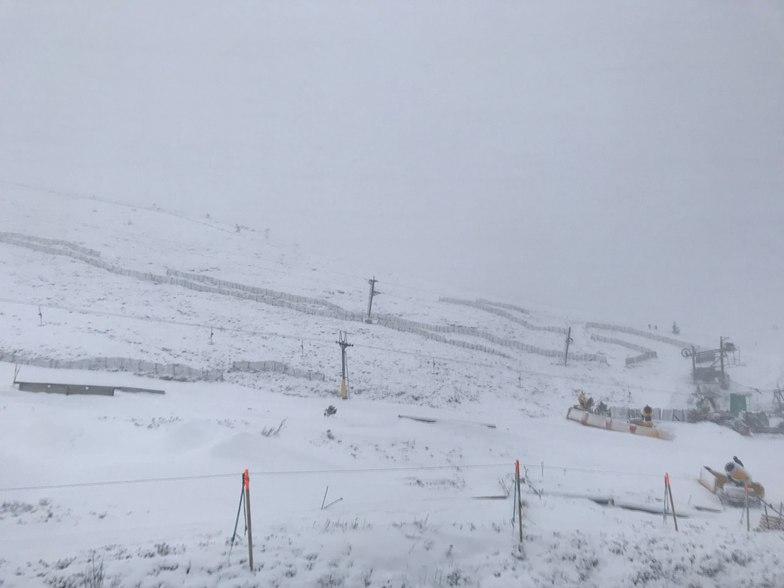 blizzard conditions close centre, Cairngorm