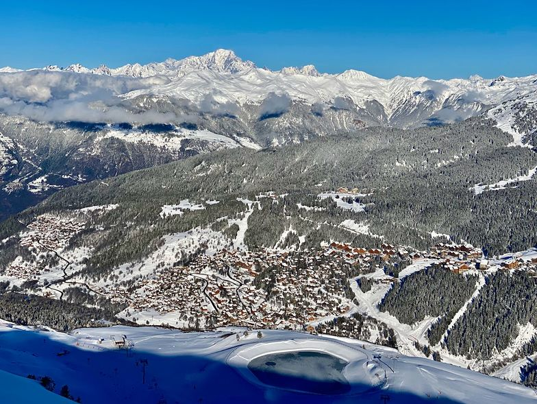 Meribel Valley from Tougnette, Méribel