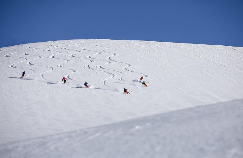 30cm of fresh snow, Livigno
