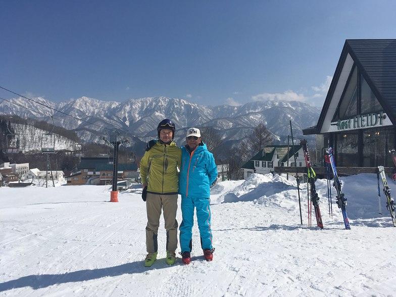 With my ski master, Hakuba Norikura