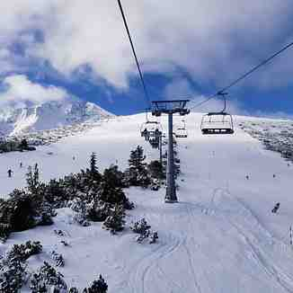 from 10 degrees above to 10 below, Bansko