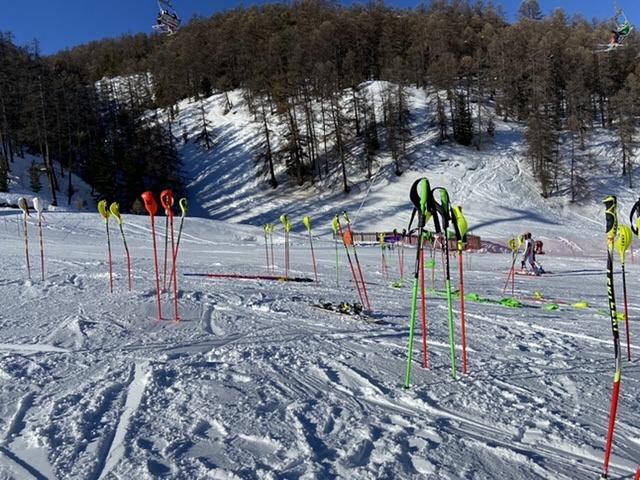 Stade de slalom, Vars