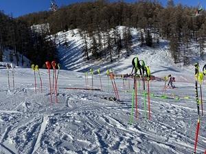 Stade de slalom, Vars photo