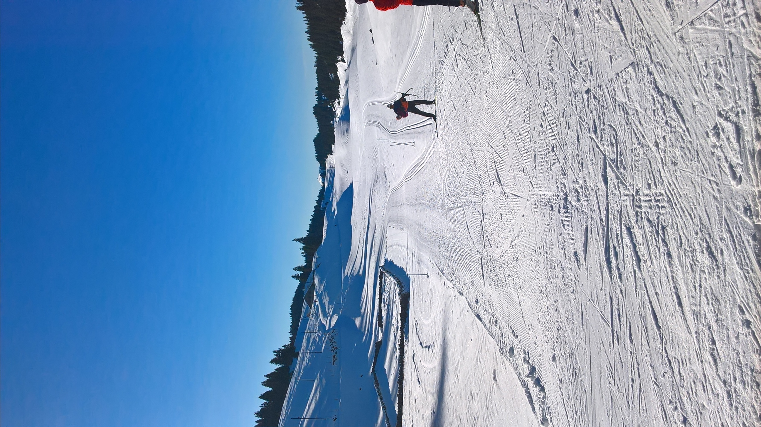 la Dôle depuis la combe des Amburnex, Le Brassus / Vallée de Joux