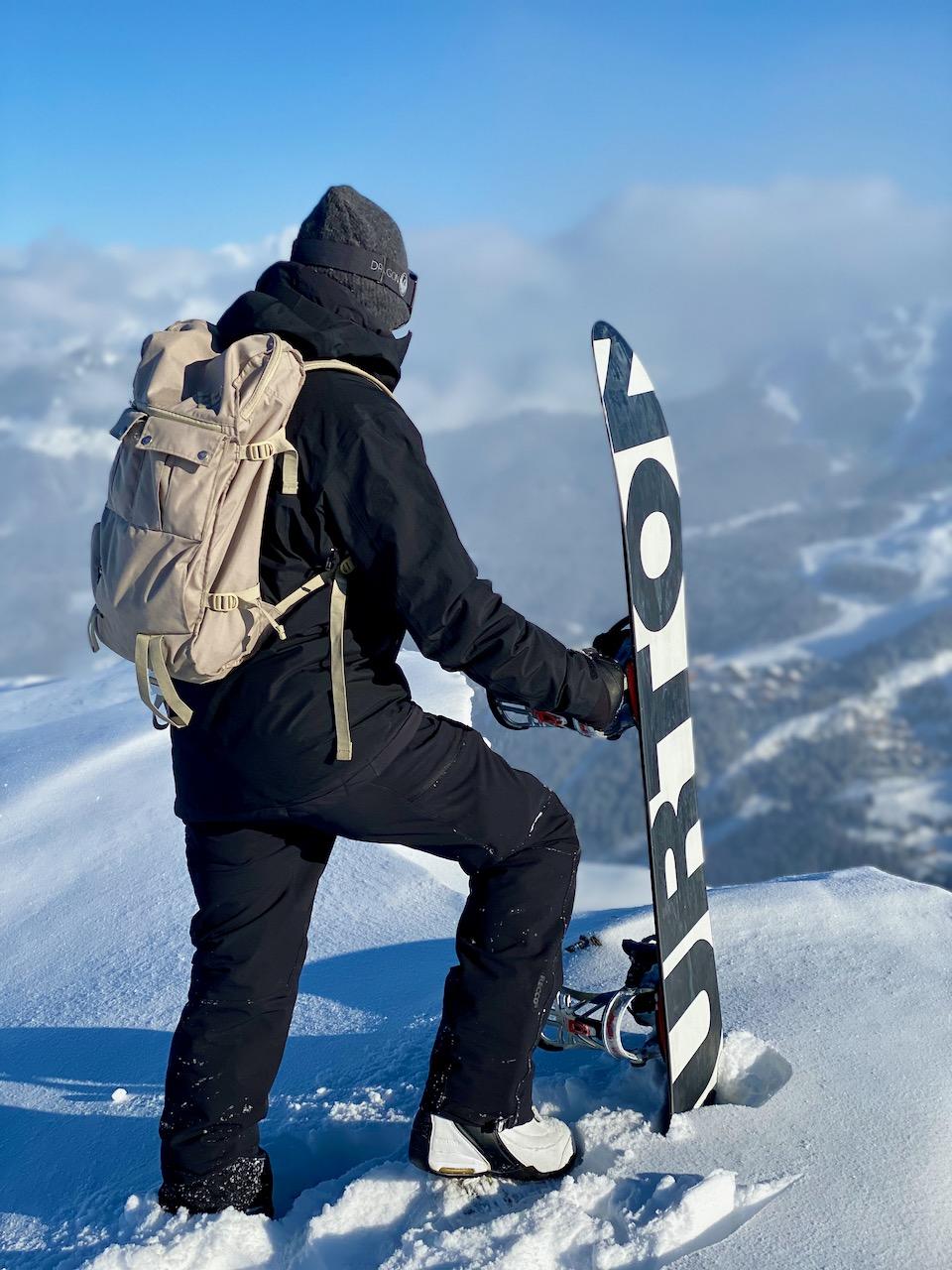 Burton 'Nug' Snowboard, Méribel